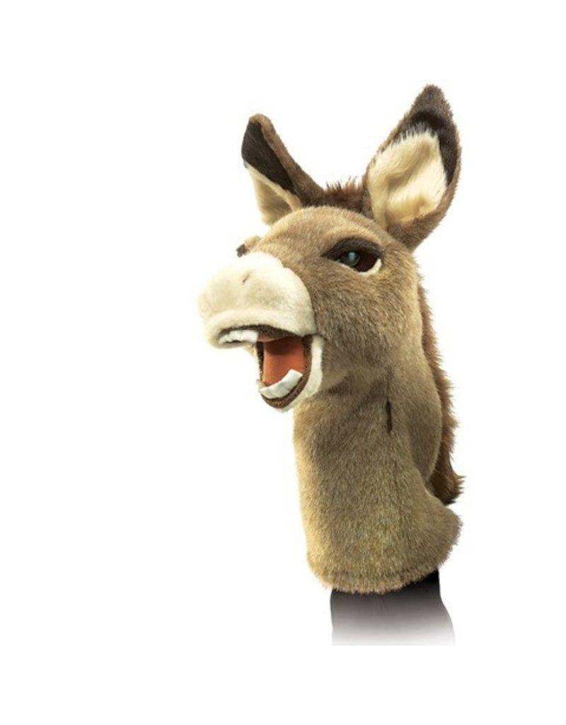 Folkmanis Hand Puppet: Donkey Stage