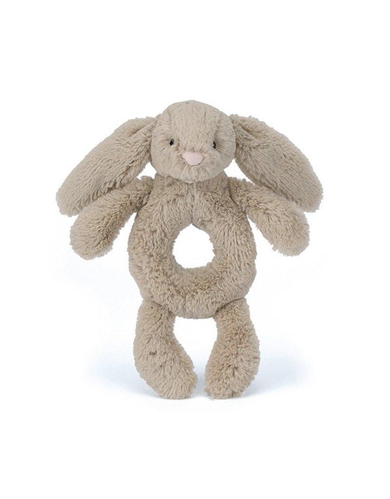 Jellycat Ring Rattle: Bashful Bunny