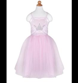 Great Pretenders Pretty Pink Dress & Tiara,  5-6yo