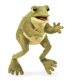 Folkmanis Hand Puppet: Funny Frog