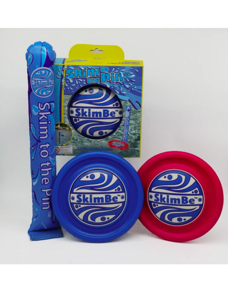 Waterline Toys Skim to the Pin - Blue/Pink