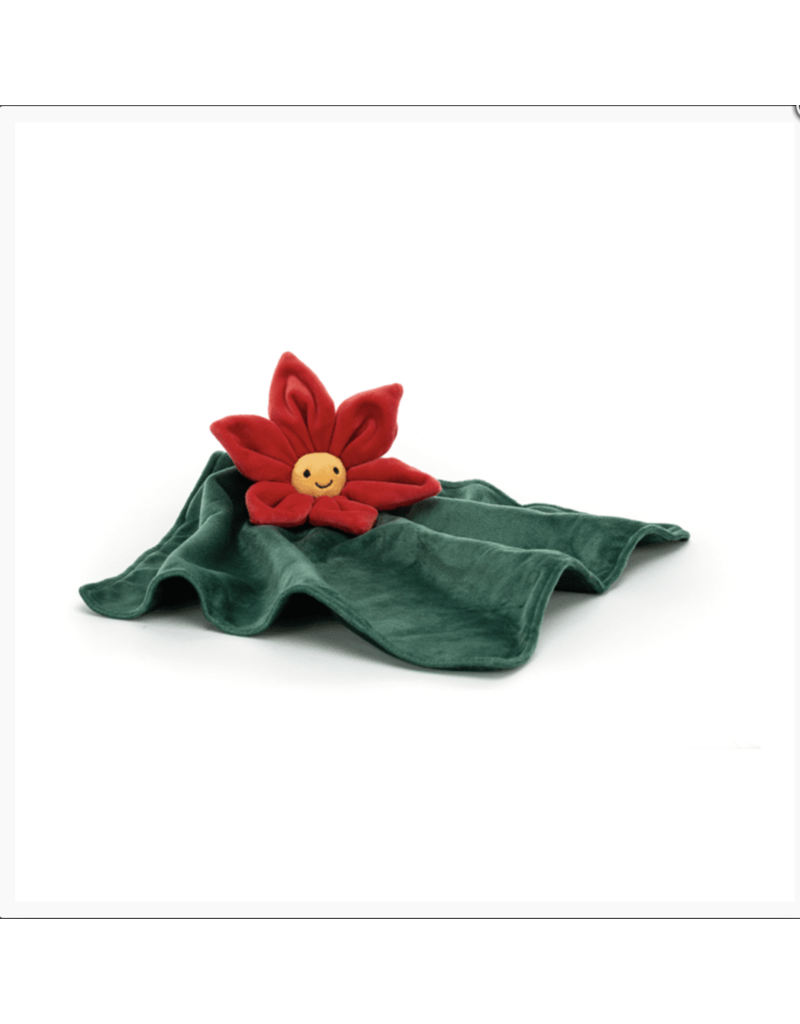 Jellycat Fleury Poinsettia Soother