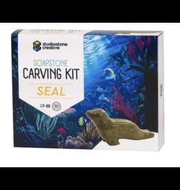 Studio Stone Carving Kit: Seal