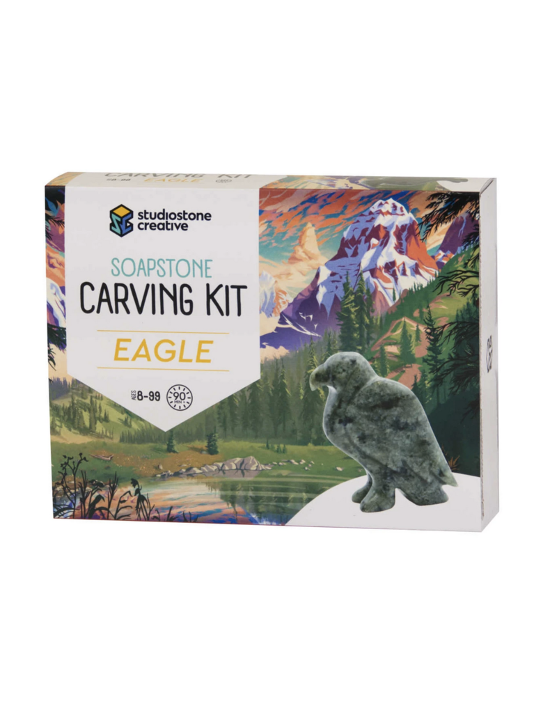 Studio Stone Carving Kit: Eagle