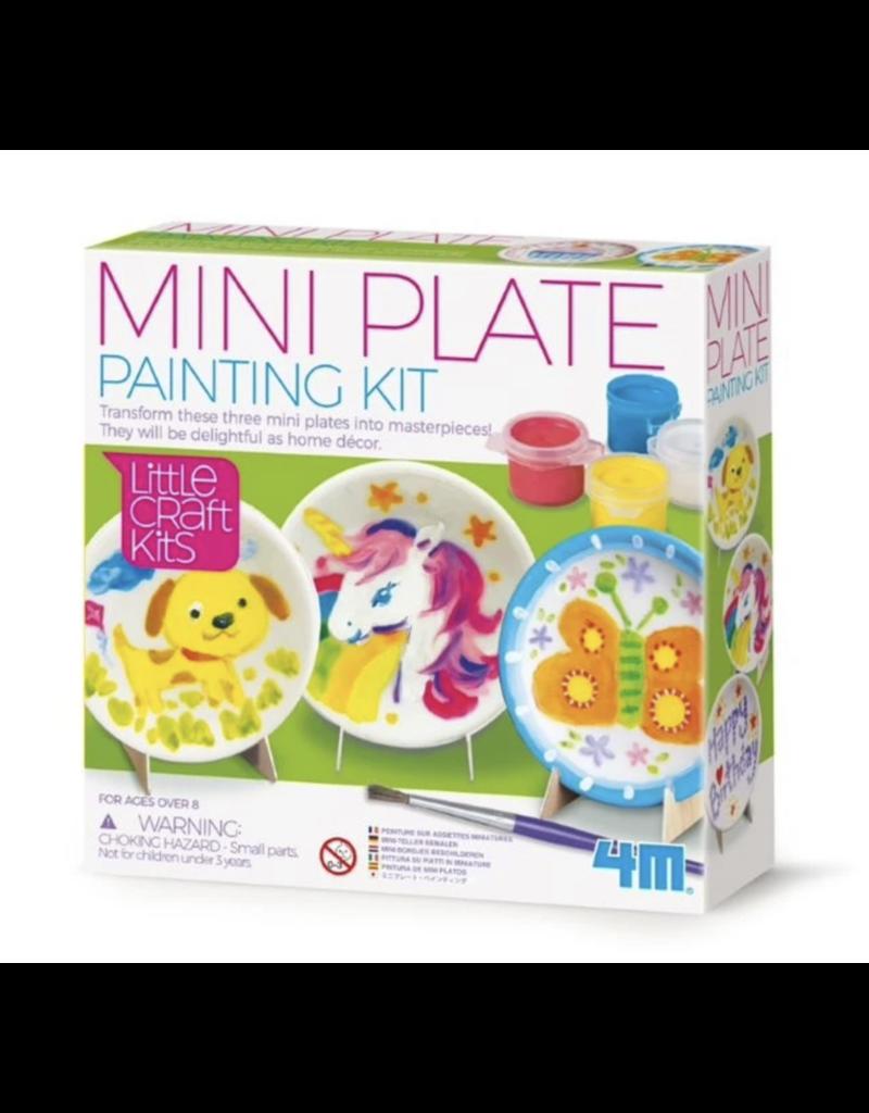 Mini Plate Painting Set