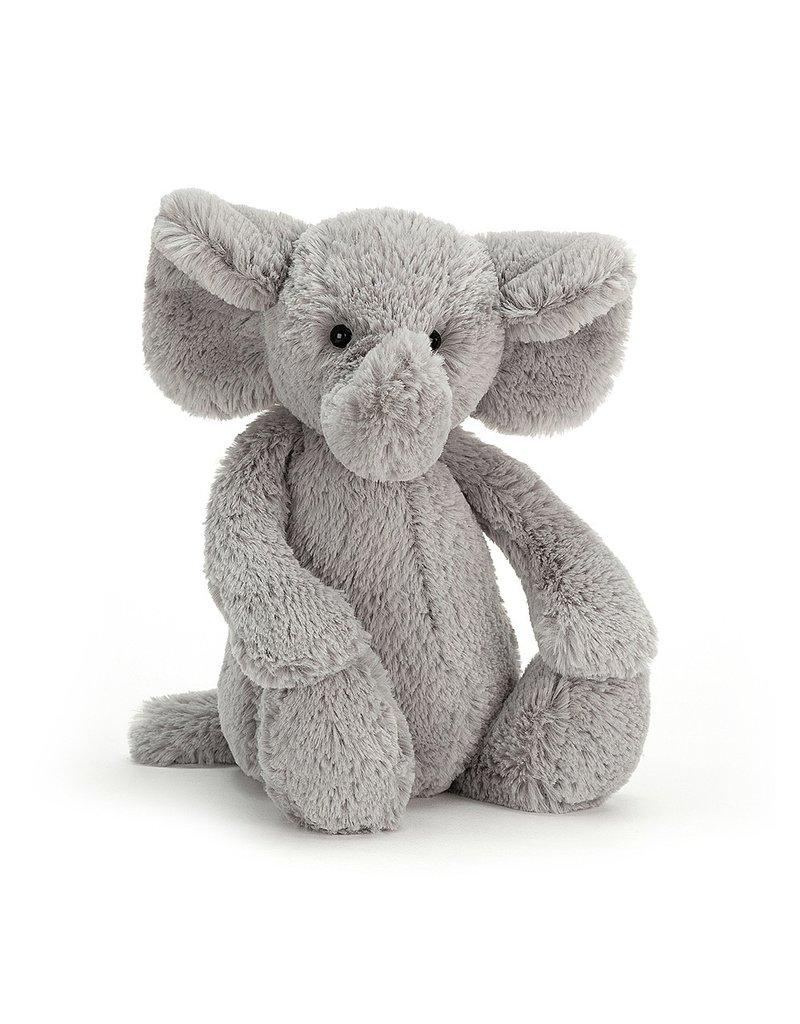 Jellycat Bashful Silver Elephant Medium