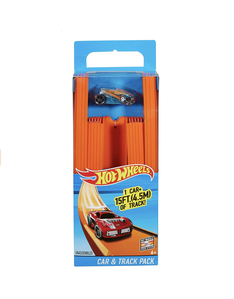 Mattel Hot Wheels: Car and Track Pack