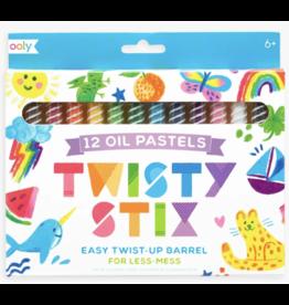Ooly Twisty Stix Oil Pastels - Set of 12