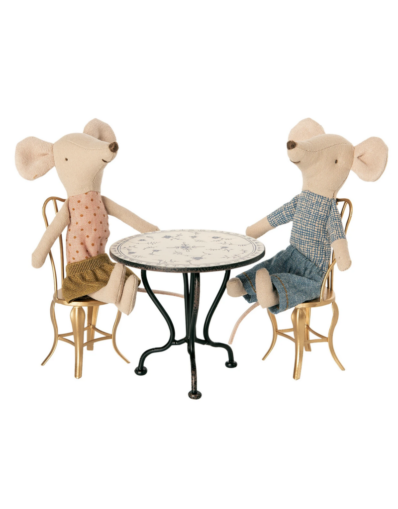 Maileg Micro Vintage Tea Table