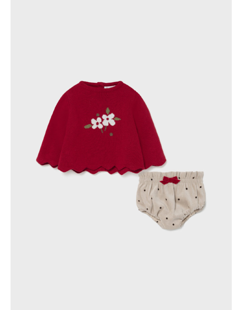 Mayoral Happiness Sweater & Bloomer