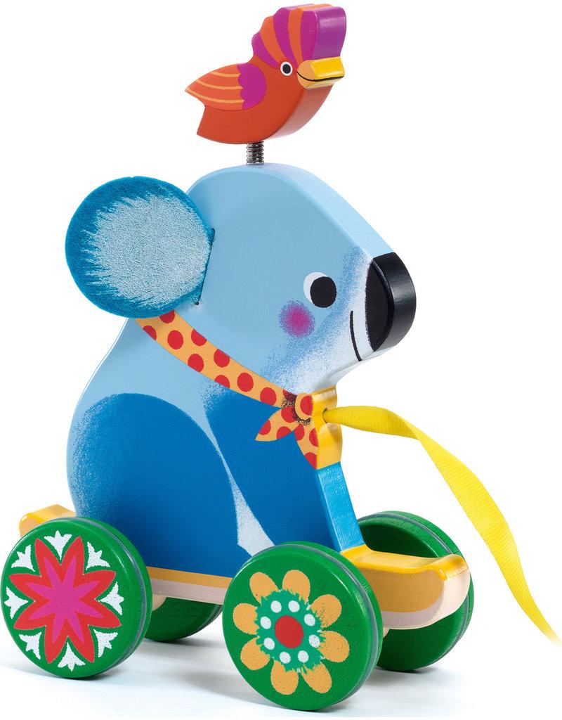 Djeco Otto Koala Pull Toy