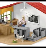 Schleich Veterinarian Practice with Pets