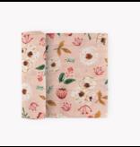 Little Unicorn Cotton Swaddle: Vintage Floral