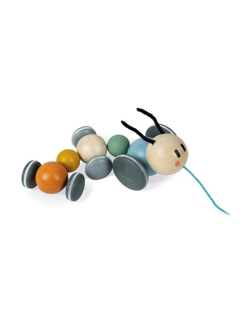 Janod Sweet Cocoon: Pull Along Caterpillar