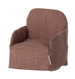 Maileg Mouse Chair, Red