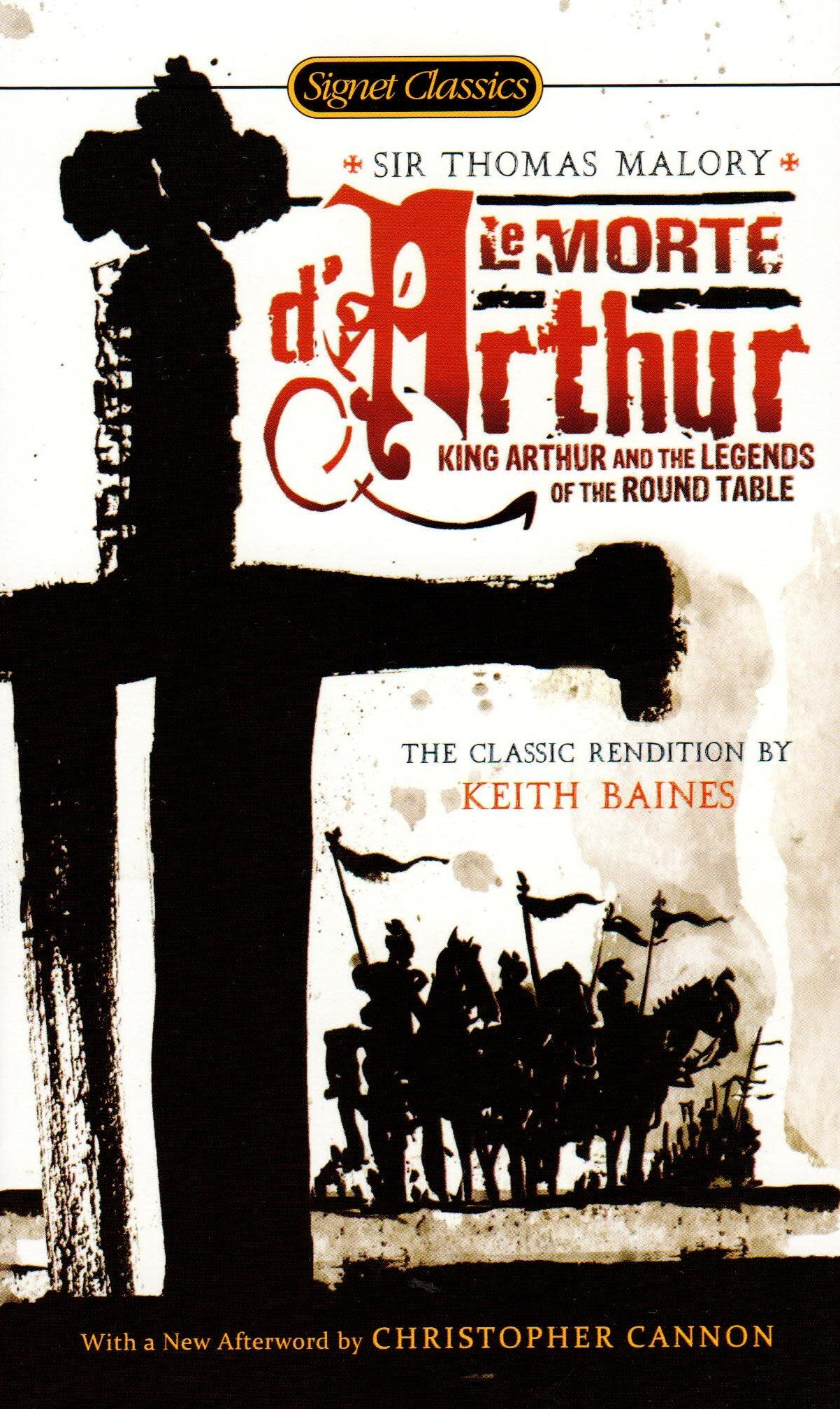 Signet Books Le Morte d'Arthur: King Arthur and the Legends of the Round Table