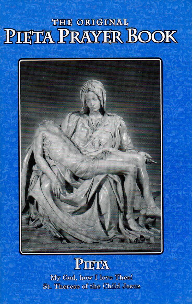 Pieta Prayer Book (Blue)