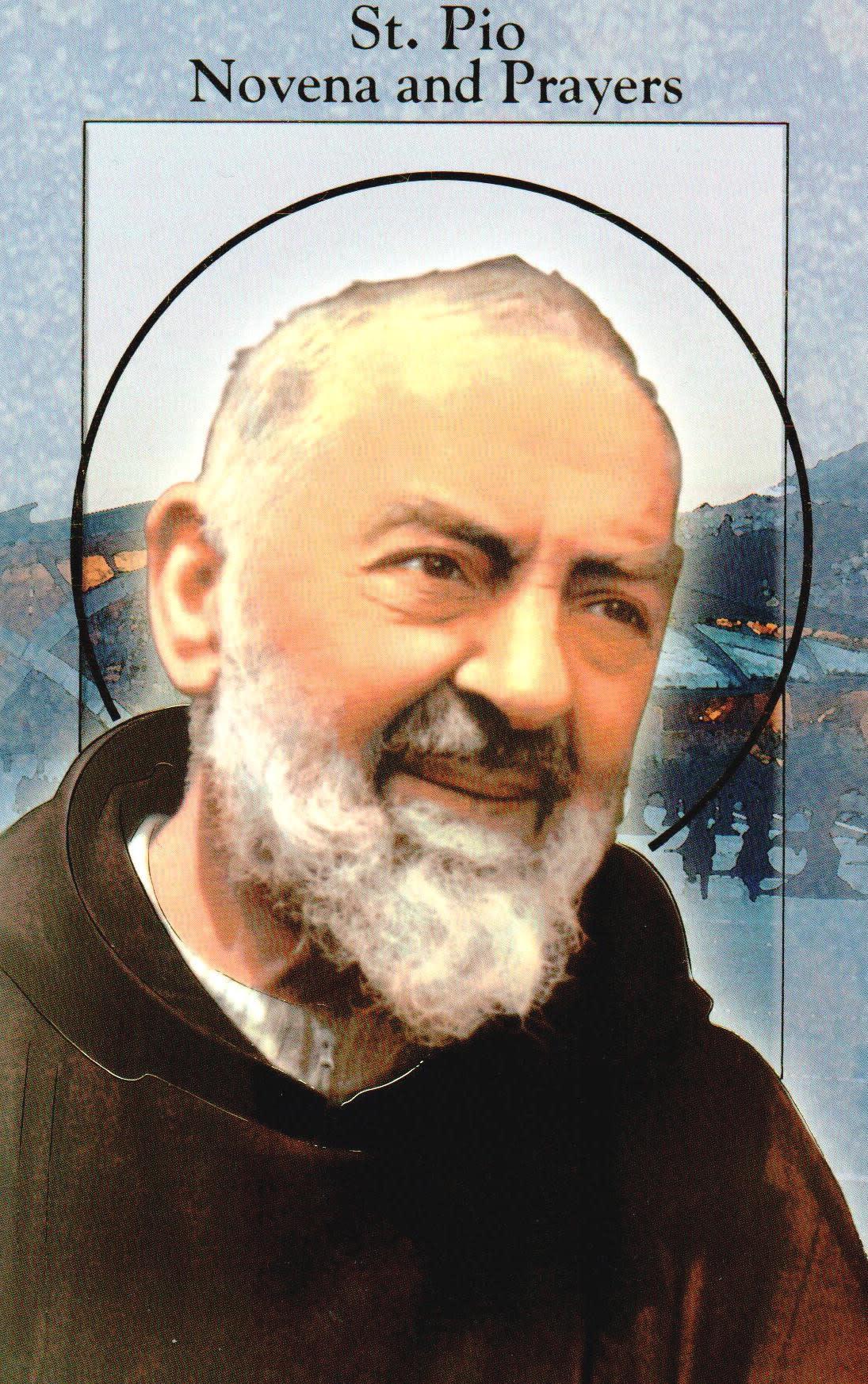St. Pio of Pietrelcina Novena and Prayers