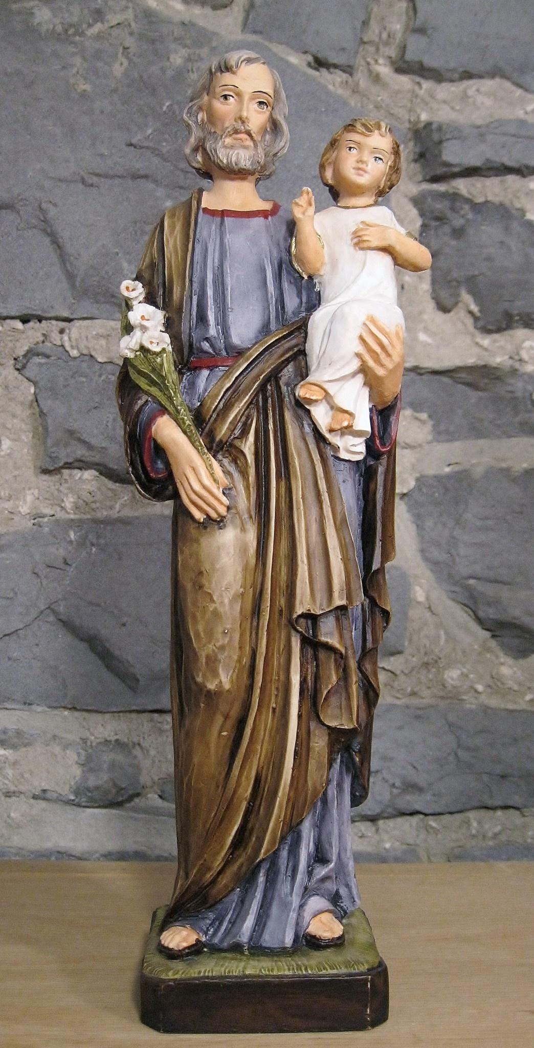 Pasquini St. Joseph with Child Jesus - 12 inches
