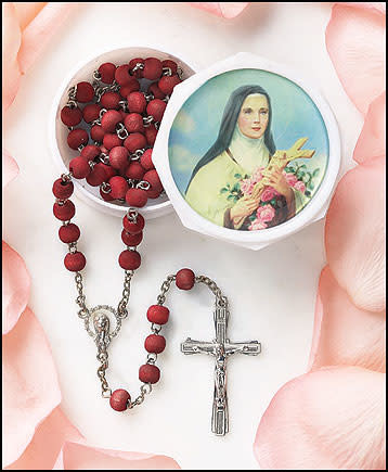 St. Therese Rosary - Rose Scent