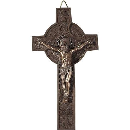 Celtic Circle Wall Crucifix