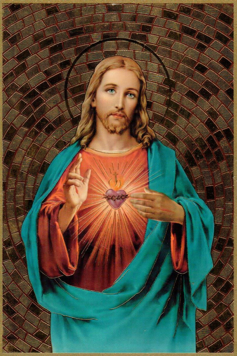 Sacred Heart of Jesus Mosaic