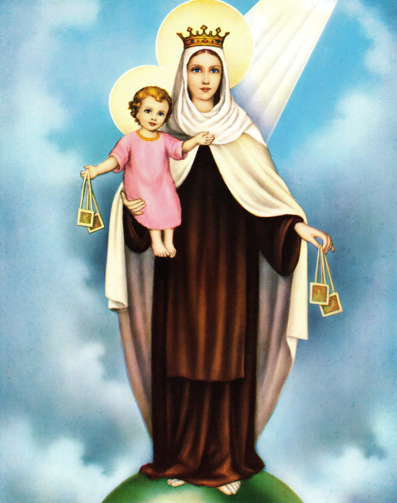 Our Lady of Mt. Carmel Print