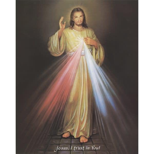 Divine Mercy Print 8x10