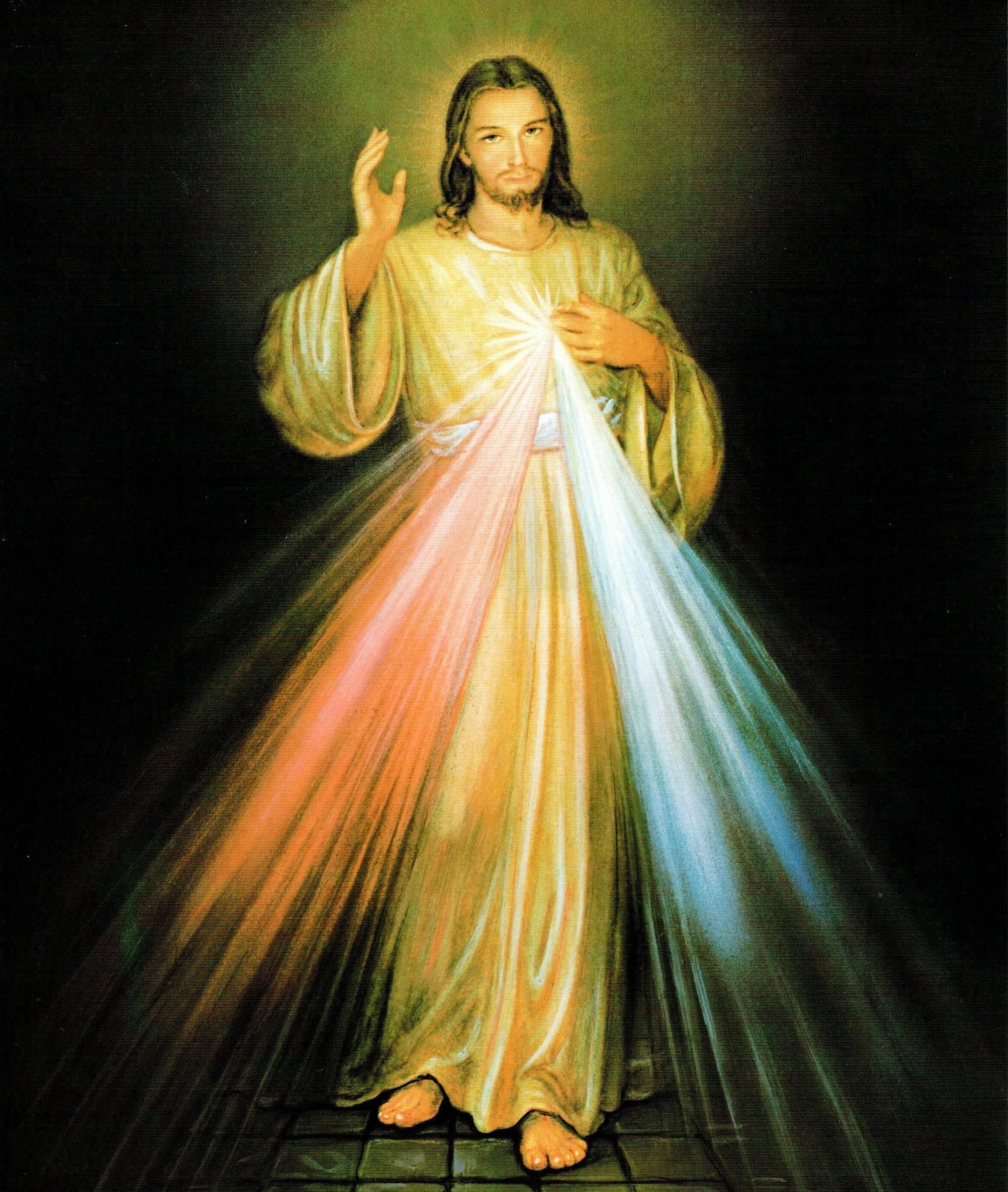Divine Mercy Print 4x6
