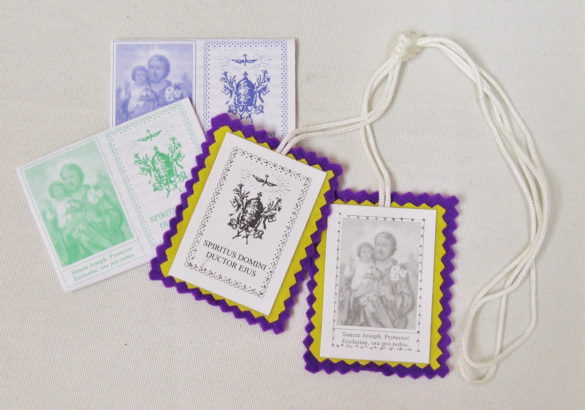 Purple (St. Joseph) Scapular