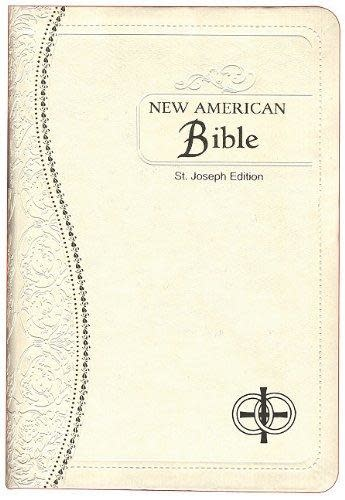 Saint Joseph Medium Size Bible-NABRE Wedding Edition