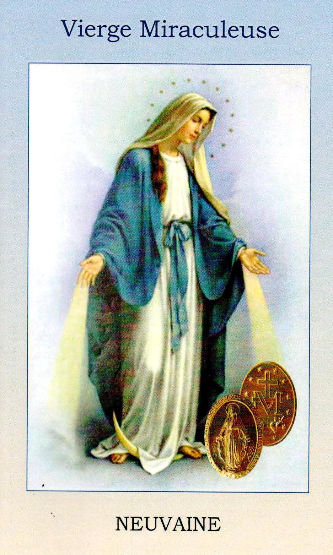 Vierge Miraculeuse Neuvaine