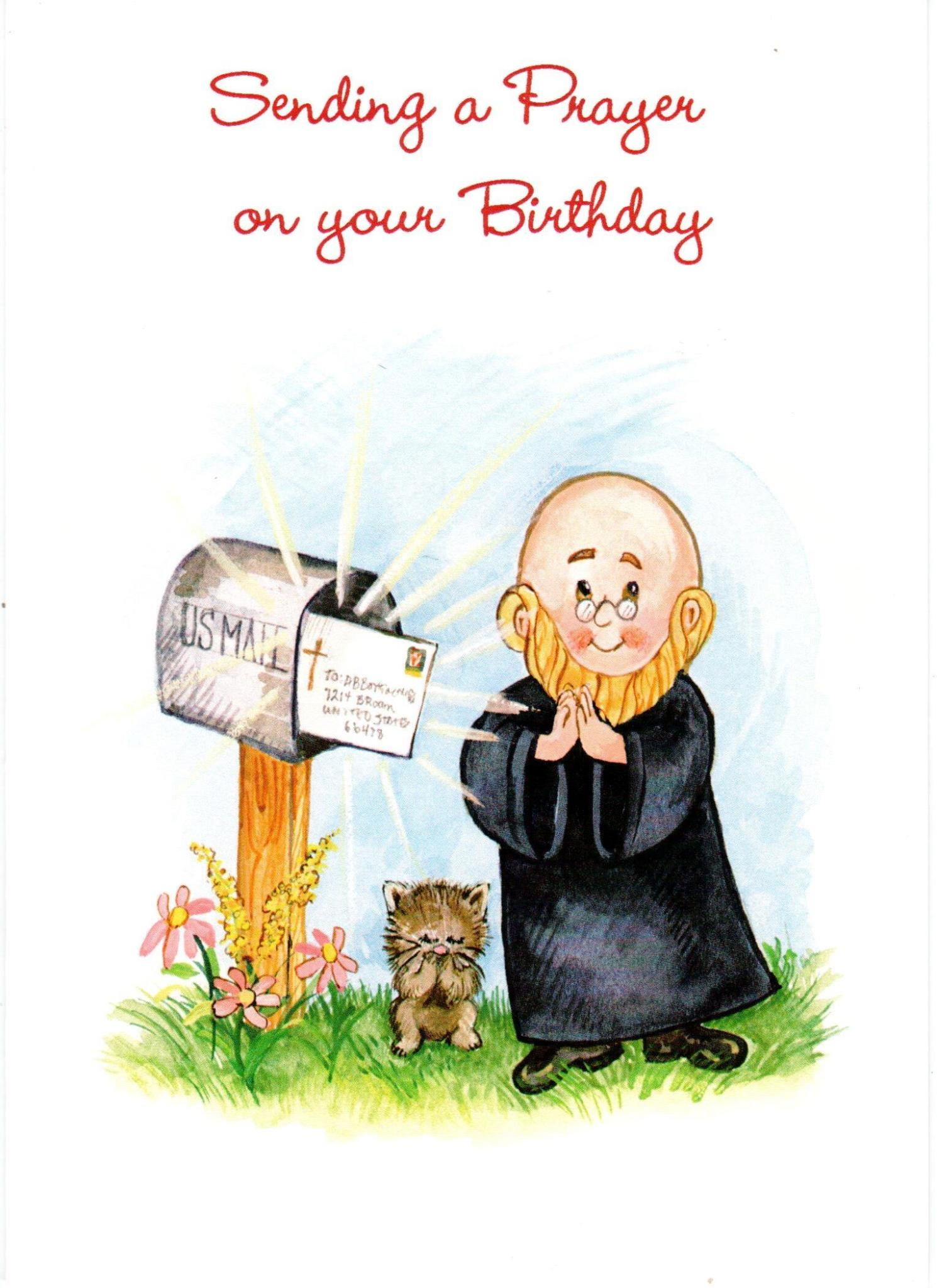 Sending a Prayer on Your Birthday - Brother Christopher