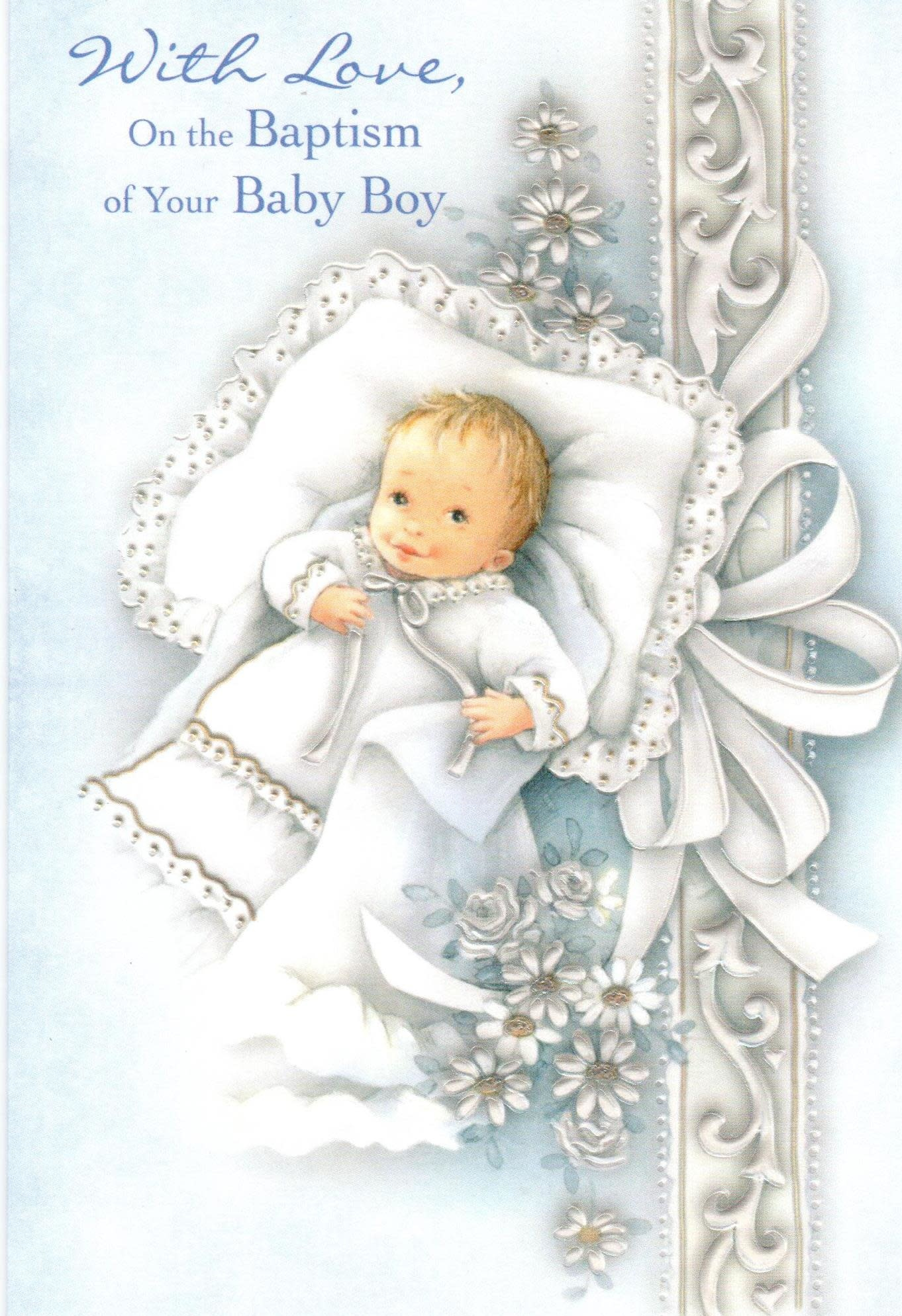With Love, On the Baptism of Your Baby Boy
