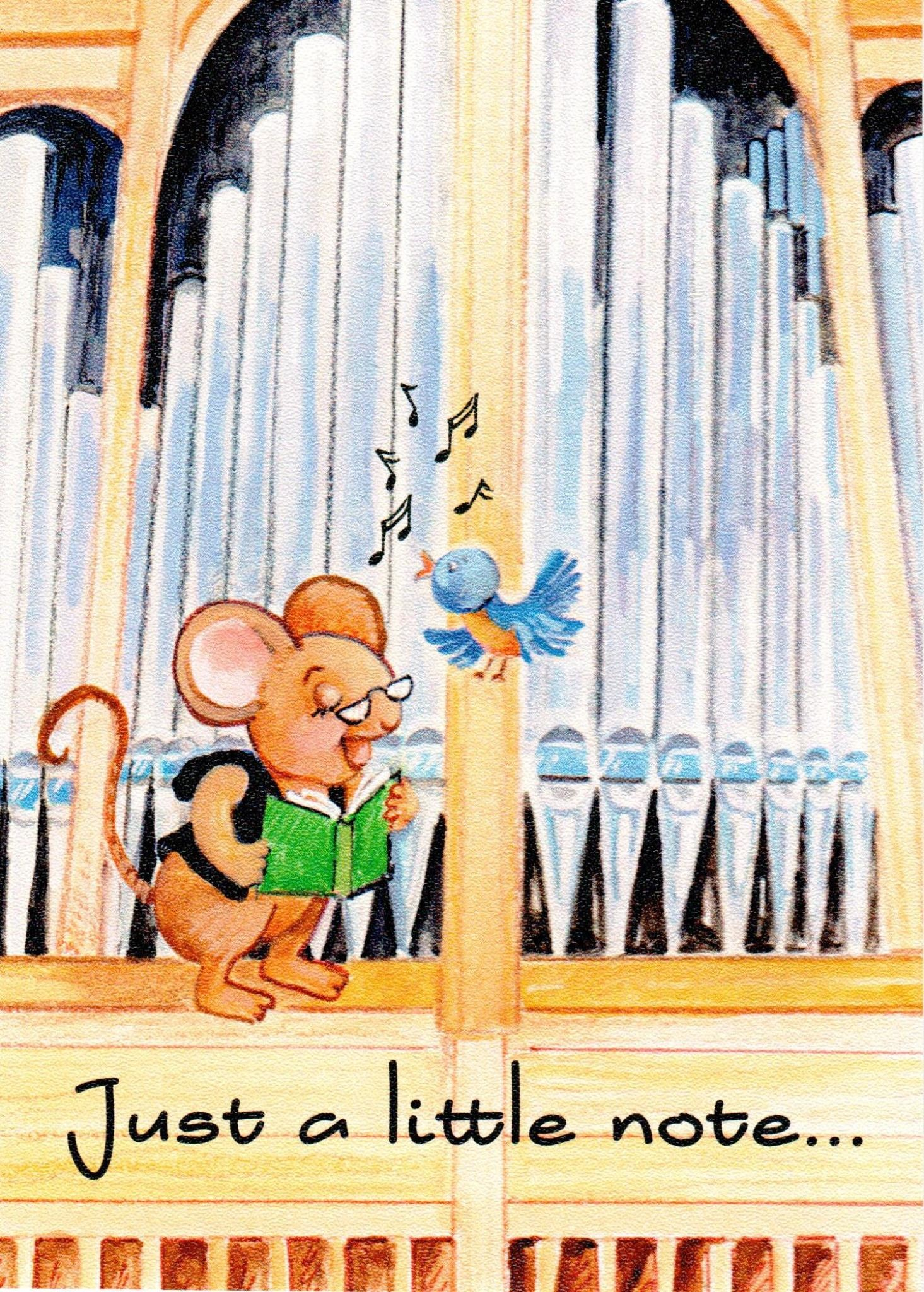 Just a Little Note - Benny the Church Mouse