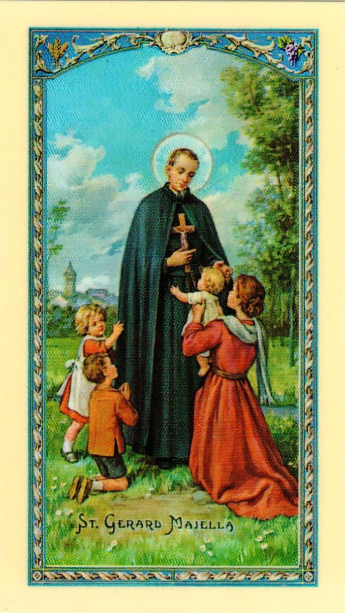 St. Gerard (Prayer for Motherhood)