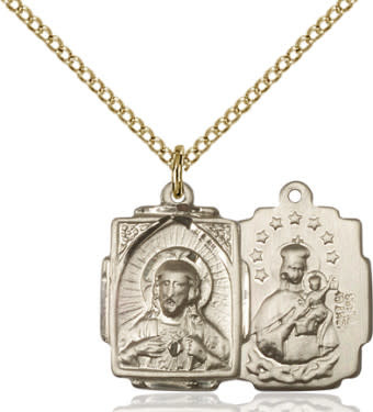"GF Scapular Medal/ 18"" Curb Chain"