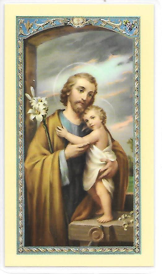 St. Joseph (1900 year old prayer)