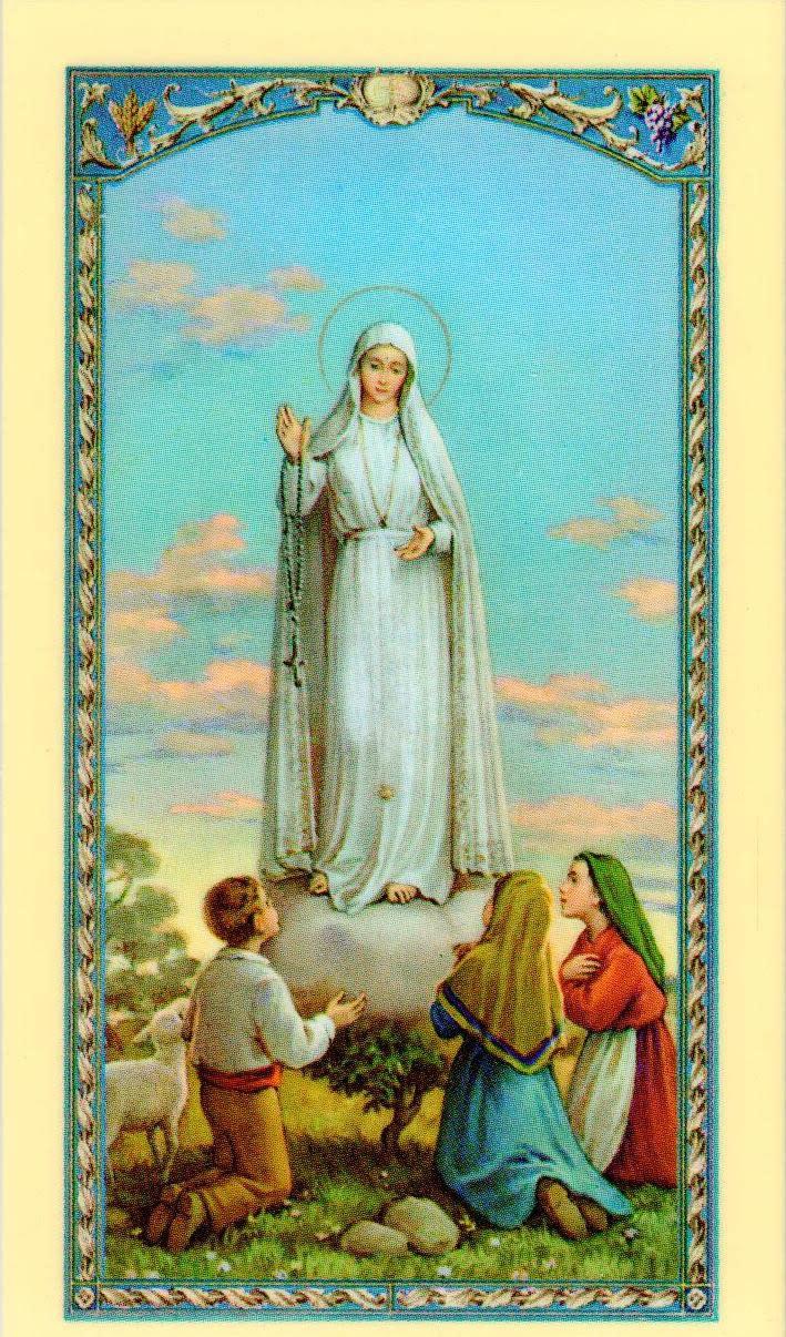 Our Lady of Fatima Novena Prayer