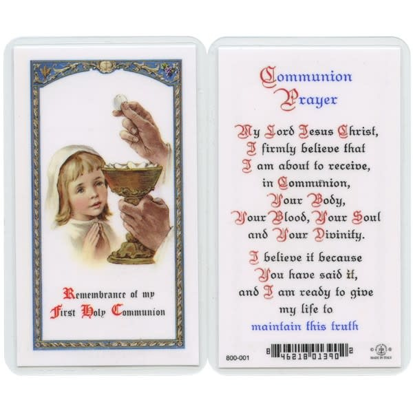 Remembrance of my First Holy Communion (Girl)