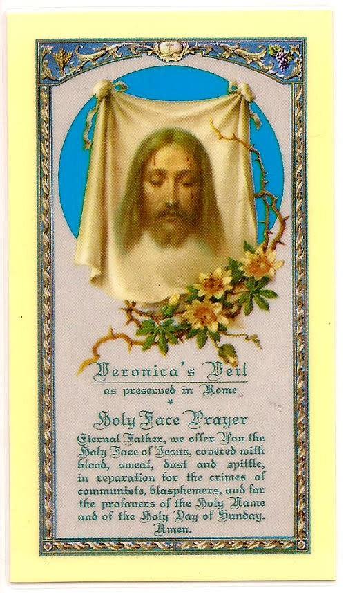 Veronica's Veil: The Holy Face
