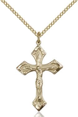 """GF Crucifix / 24"""" Curb Chain"""