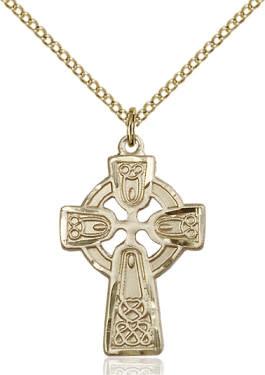 "GF Celtic Cross SM / 24"" Curb Chain"