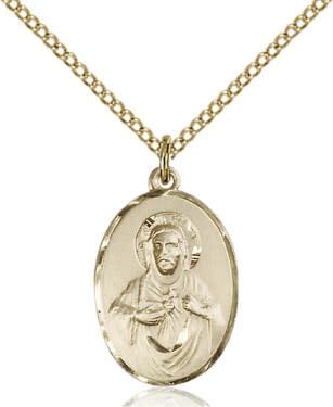 "GF Scapular Medal / 24"" Curb Chain"