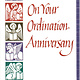 On Your Ordination Anniversary