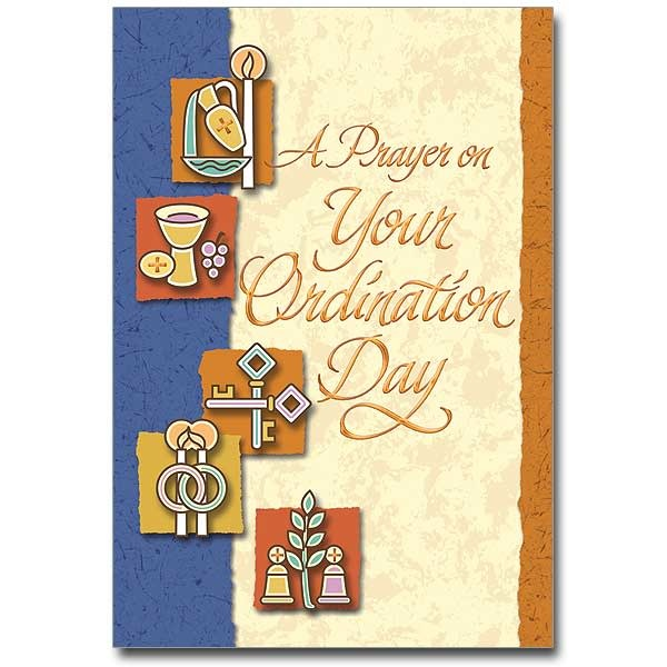 A Prayer on Your Ordination Day