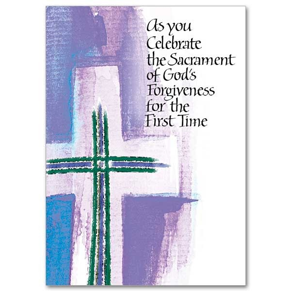As You Celebrate The Sacrament of God's Forgiveness