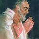 Padre Pio (w/ stigmata)