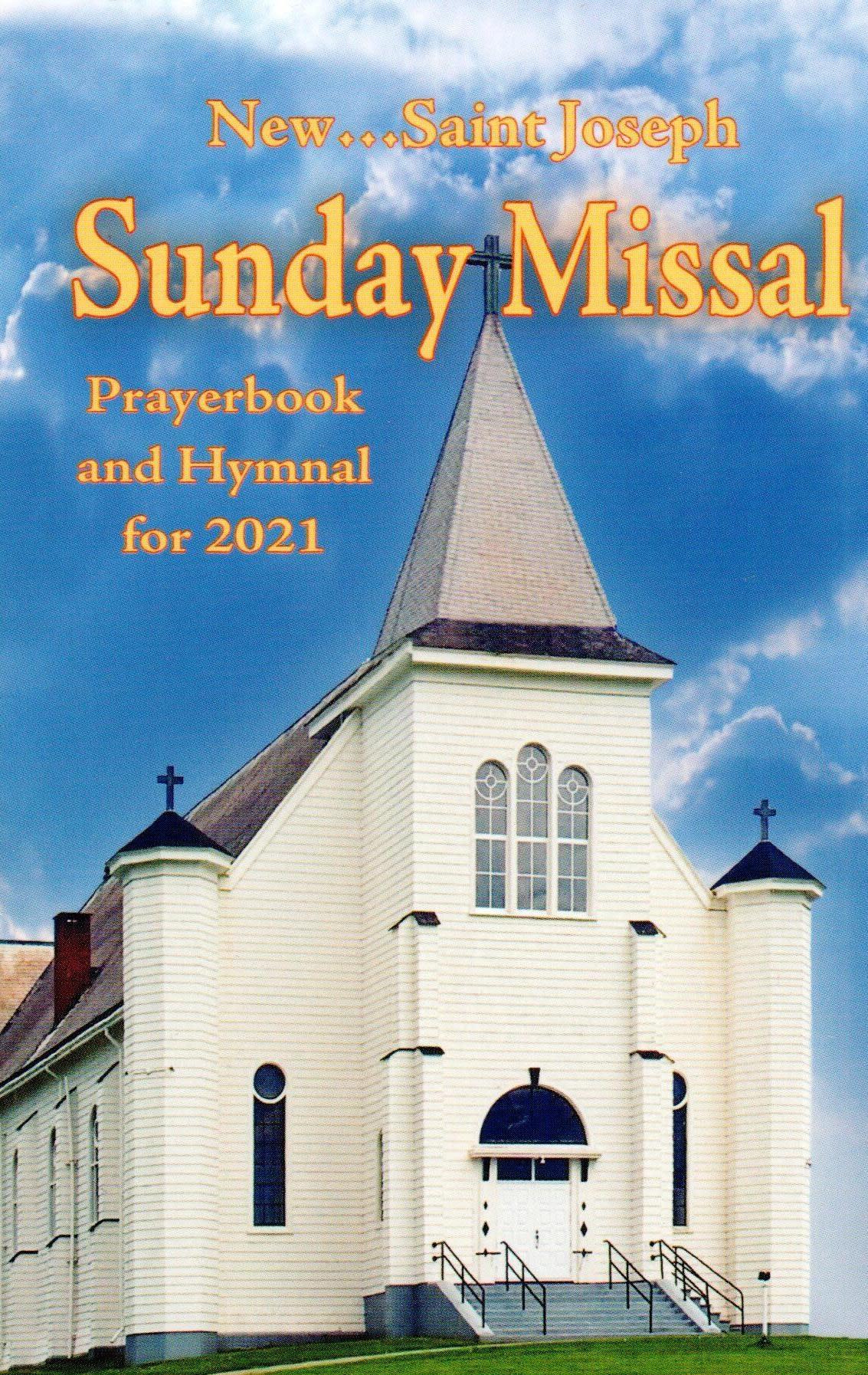 St. Joseph Sunday Missal 2021