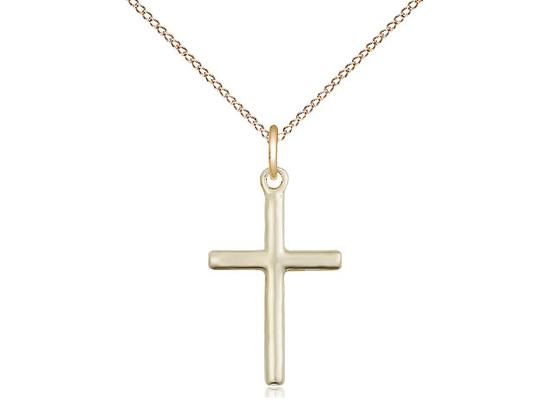 """GF Simple Cross / 18"""" Curb Chain"""